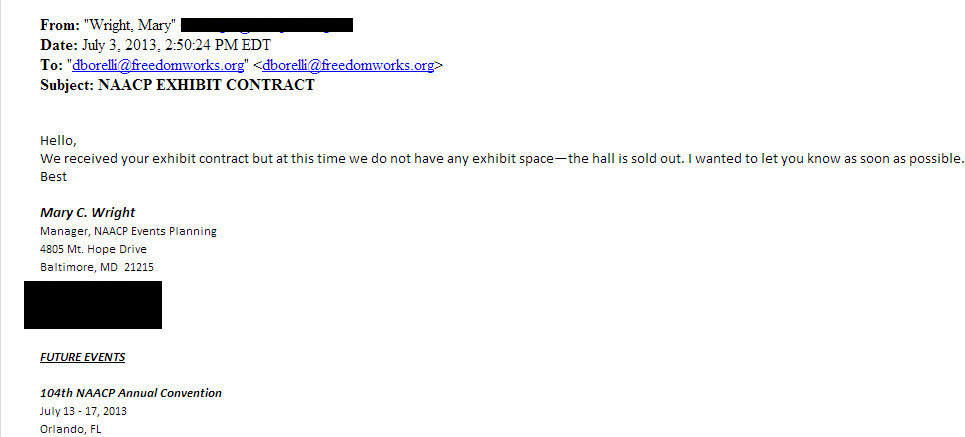 exhibit hall email w blackouts