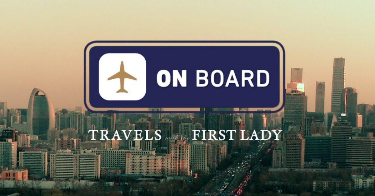 Michelle Obama travels