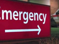 Emergency Room hospital sign