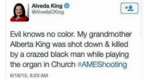 Alveda King Tweet