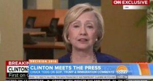 CNN Hillary Interview