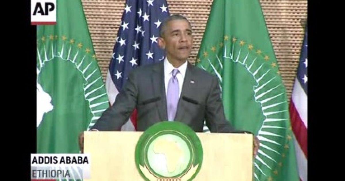 Obama African Union