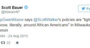 Rep. Moore lynching tweet