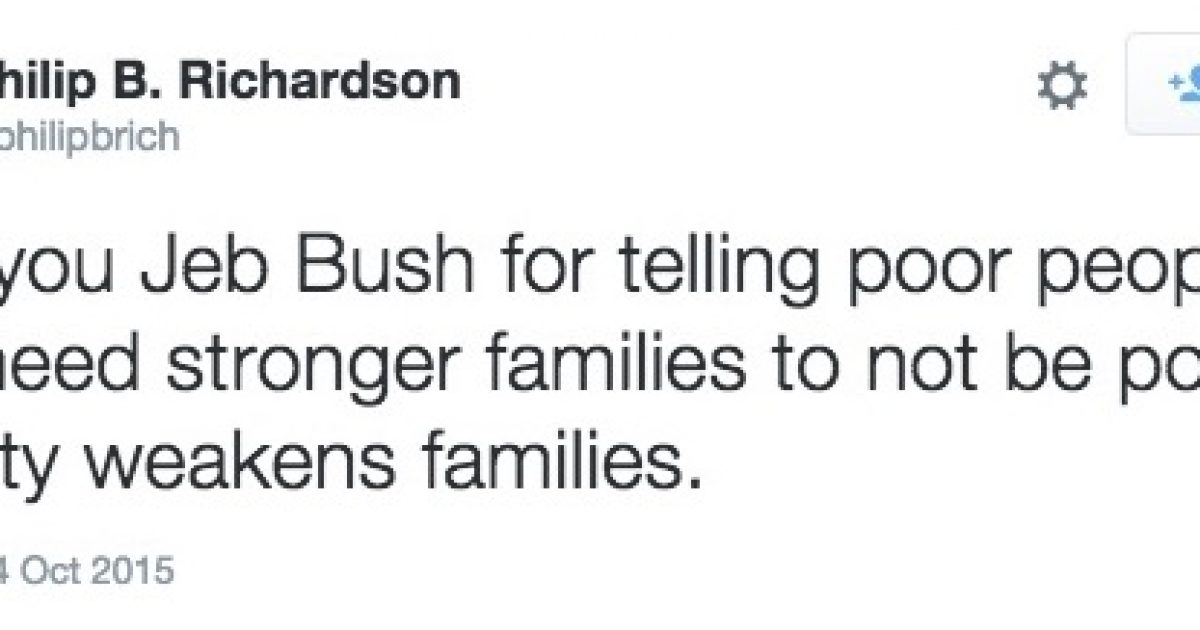 Jeb Bush tweet