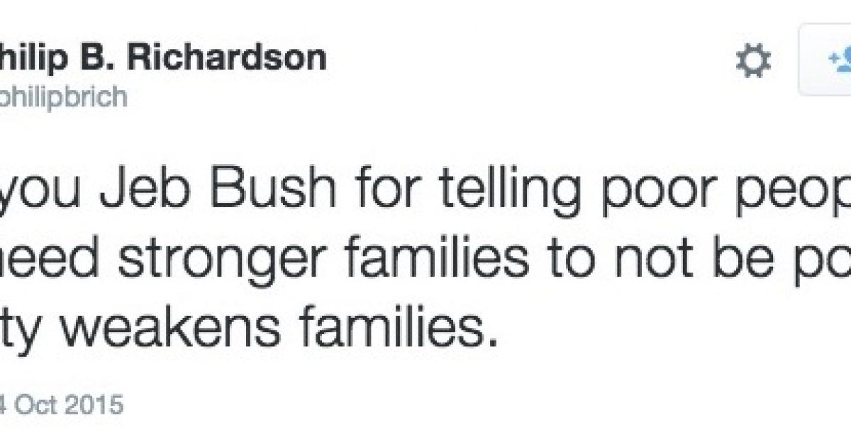 Jeb Bush tweet