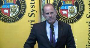 University of Missouri president
