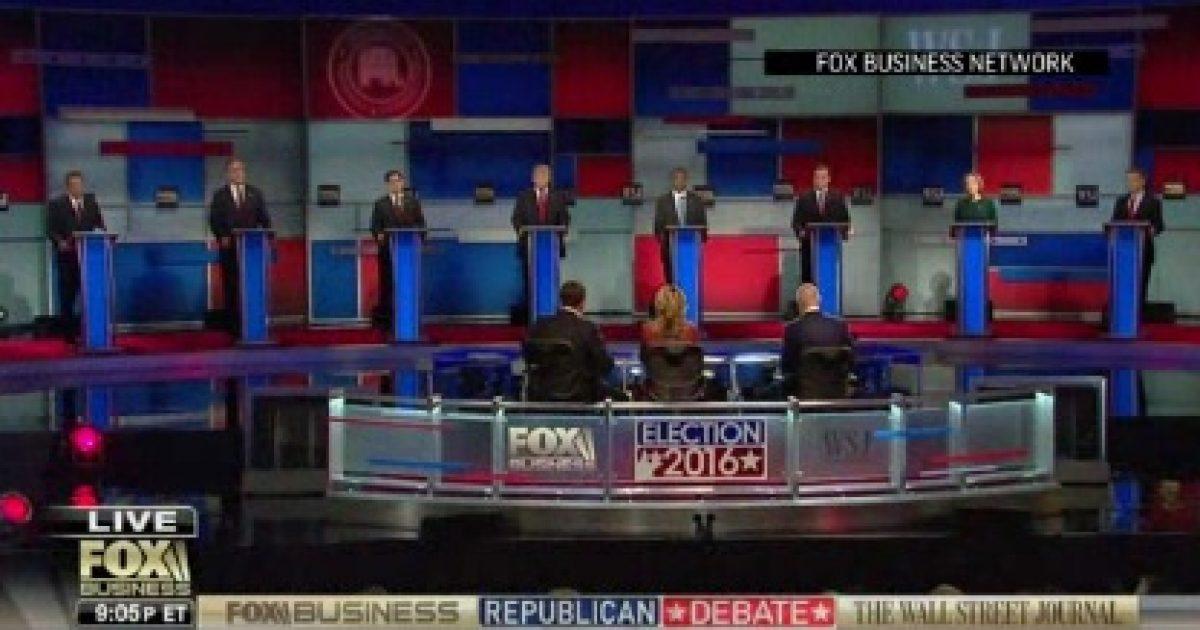fox business gop debate