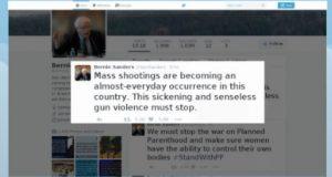 gun violence tweet