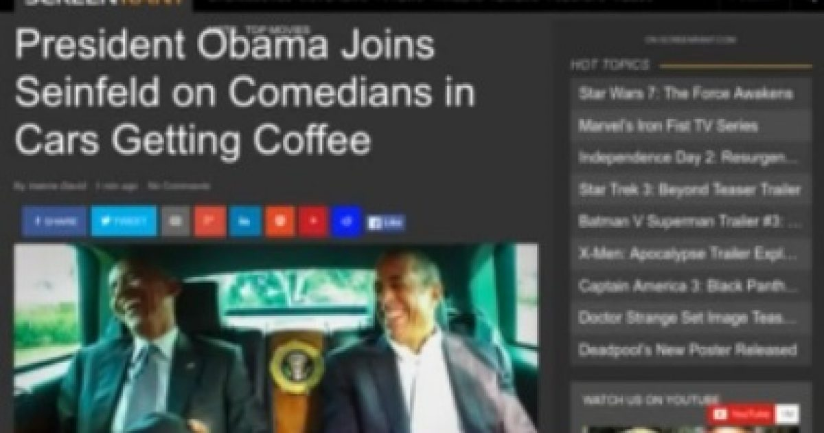 seinfeld and obama