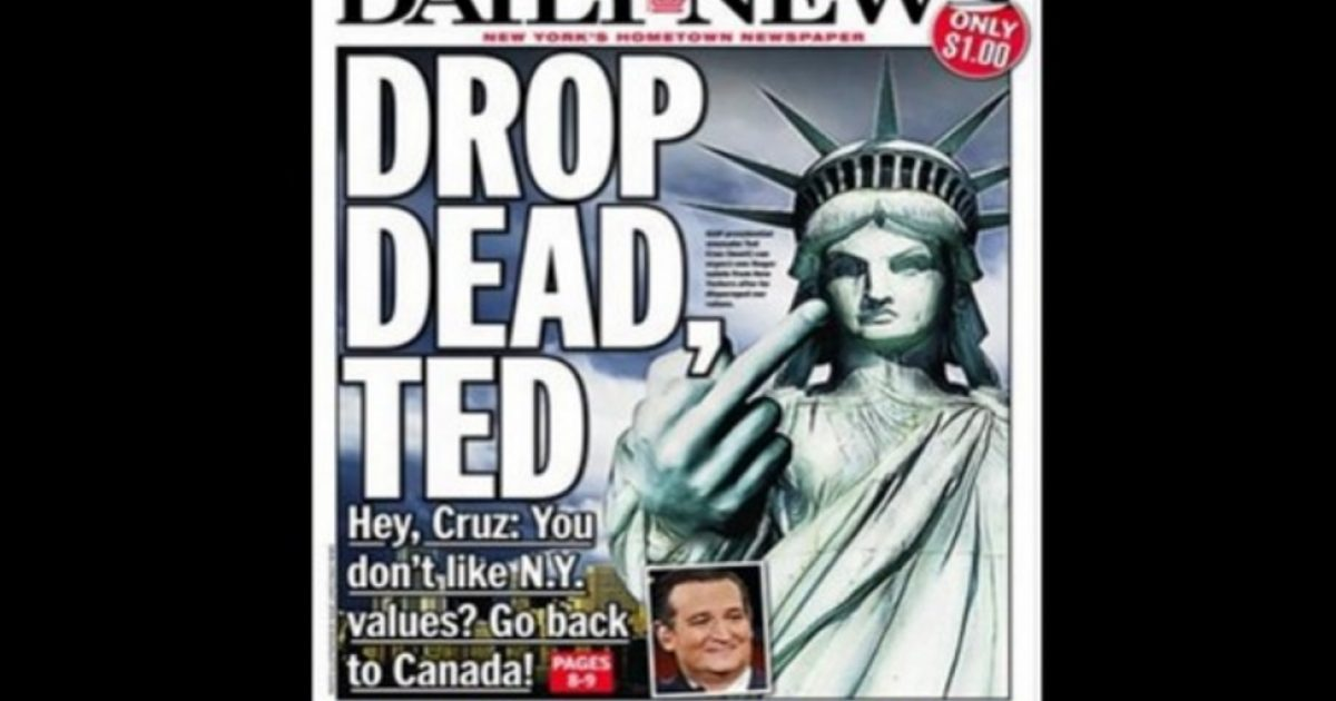 daily news cover