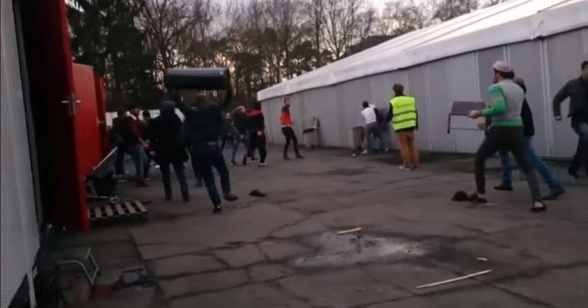 Belgium riot