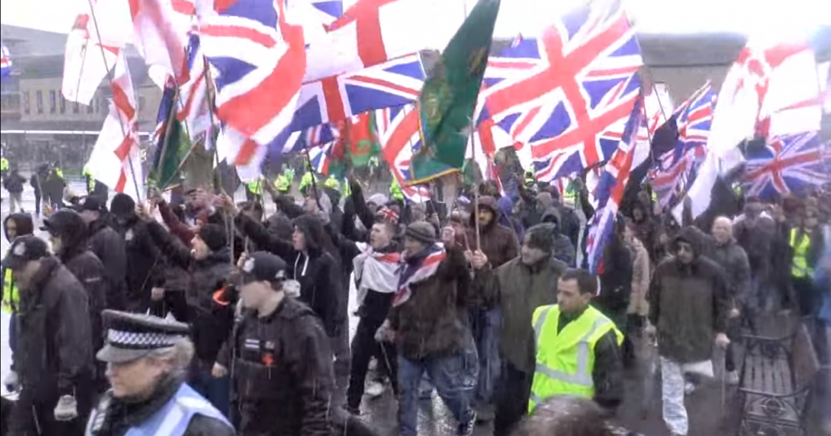 Christian Britain First March