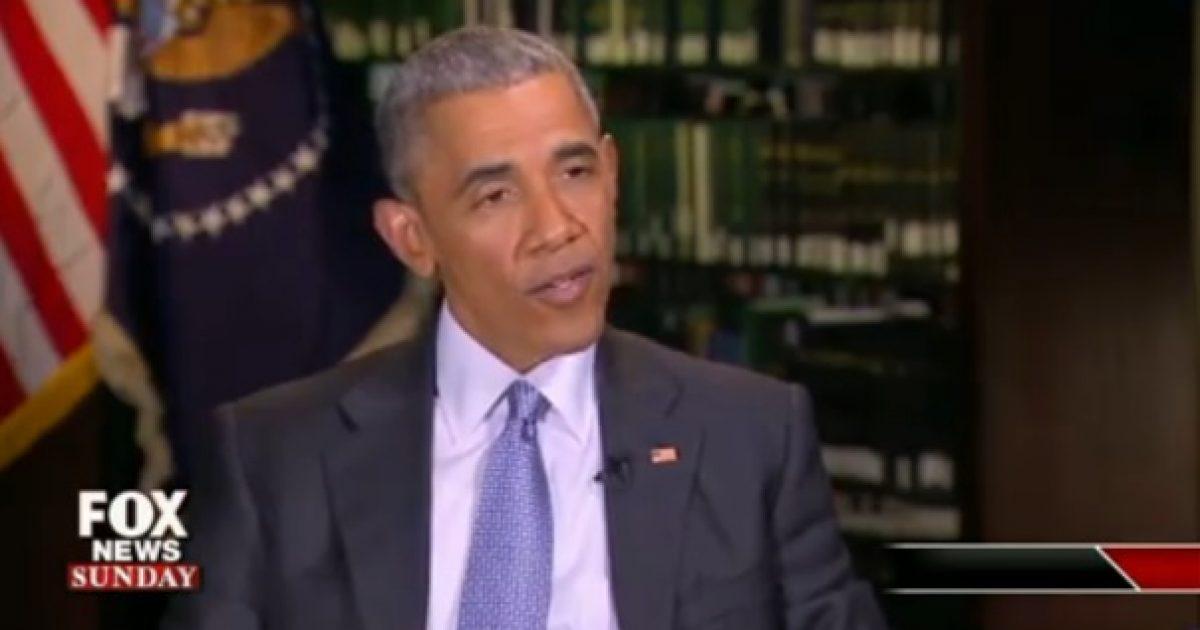 obama fox news sunday