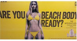london bikini ad
