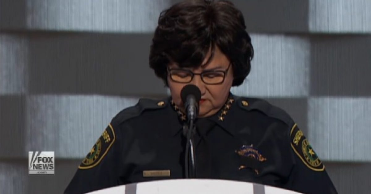 dnc police moment of silence