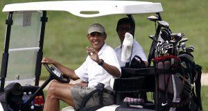 obama golf