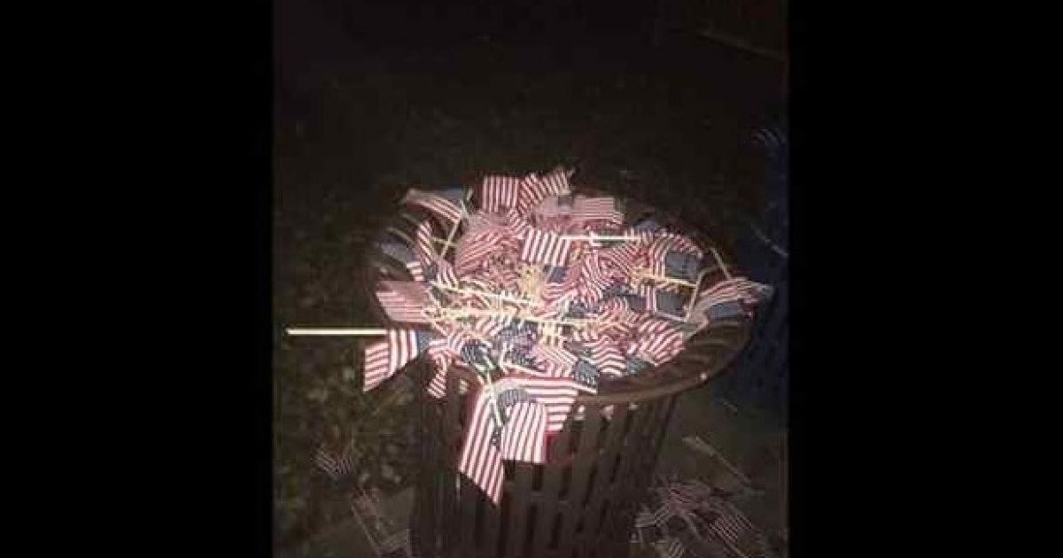 9-11 vandals