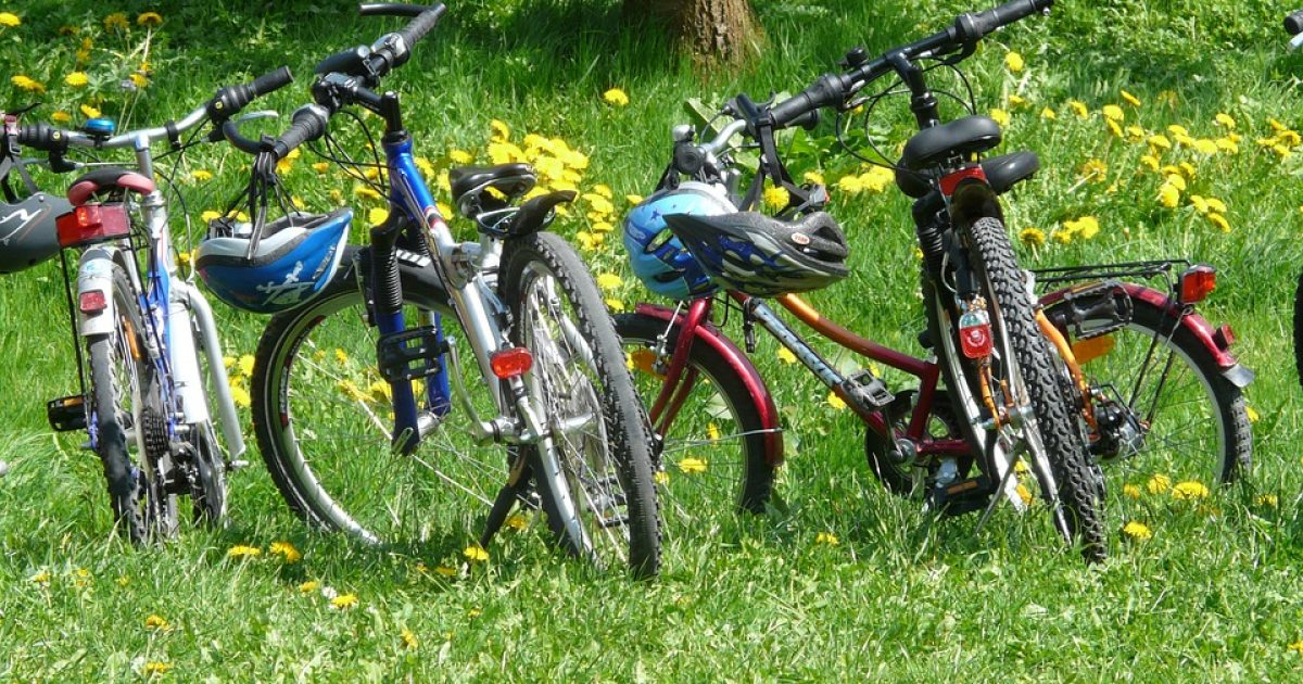 French family bicycles