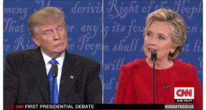 trump and hillary debate
