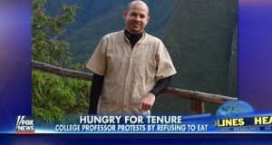 tenure hunger strike