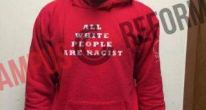 racist hoodie