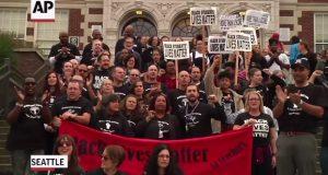 seattle teacher rally