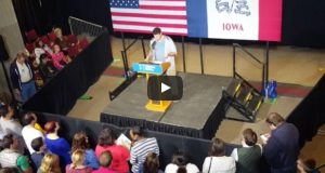 Sanders supporter Hillary rally