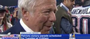This Is Why Patriots Owner Robert Kraft Supports Trump