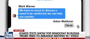Sen Mark Warner Worked With Russian Lobbyist In Effort To Contact Steele