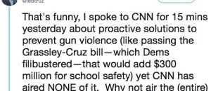 Sen Cruz Interview with CNN Not Aired But Is Attacked as No-Show