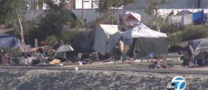 Tons of Hazardous Waste Including 14,000 Hypodermic Needles Removed From Orange County Homeless Camps