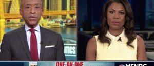 Omarosa Tells Al Sharpton On MSNBC Politics Nation Trump 'Wants To Start Race War'