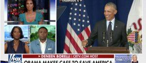Video Deneen Borelli Debates Obama Speech Blasting President Trump