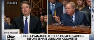 Judge Kavanaugh and Senator Lindsey Graham Fight Back Against Democrats