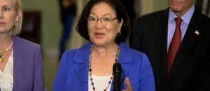 Senator Hirono Caught Fundraising On Kavanaugh Hearing