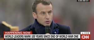 French President Macron Slams Nationalism