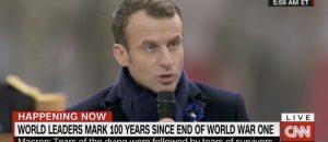 French President Macron Slams Nationalism