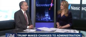 Tom Borelli Debates William Barr and Heather Nauert Nominations on i24 News