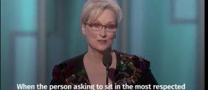 Meryl Streep Says Trump Scares Her