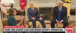 Trump Clashes With Pelosi And Schumer Over Border Wall Funding On TV