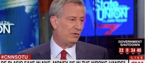 NYC Mayor Bill de Blasio: Money 'is in the wrong hands'