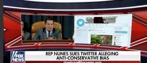 Rep Devin Nunes Sues Twitter