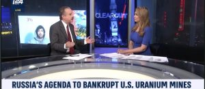 Tom Borelli Discusses Russia Plan to Bankrupt US Uranium Mines on i24News
