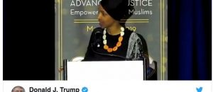 Democrats Rally Behind Rep Omar After Trump 9/11 Tweet