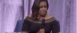 Michelle Obama Mocks Trump During London Book Tour