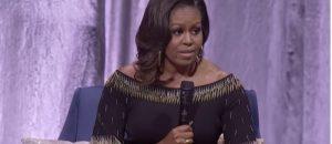 Michelle Obama Mocks Trump During London Book Tour