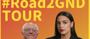 Sen Sanders and Rep Ocasio-Cortez Plan to Push Green New Deal at Rally