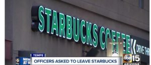 Starbucks Apologizes for Asking Tempe Police Officers to Leave Arizona Coffee Shop