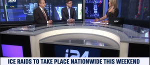 Tom Borelli Debates ICE Raids and Ocasio-Cortez Feud with Pelosi on i24 News
