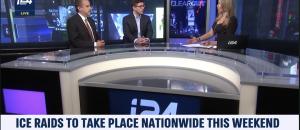 Tom Borelli Debates ICE Raids and Ocasio-Cortez Feud with Pelosi on i24 News